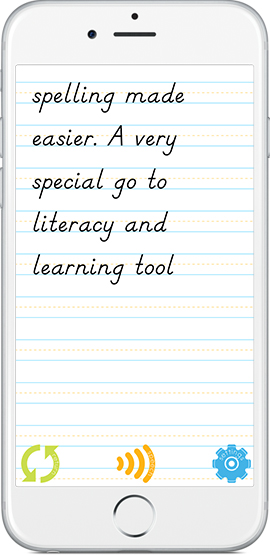 Easy Spelling Aid - It helps with spelling at home and at school.