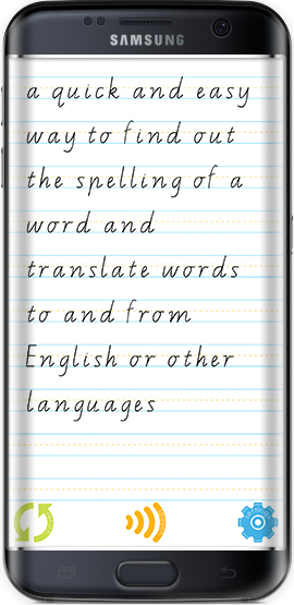 Easy Spelling Aid - Dyslexia - Translator - iOS - Android - App